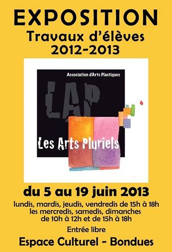 Exposition Juin 2013