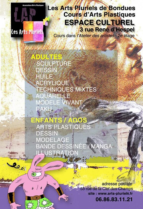 Cours arts pluriels 2014-2015