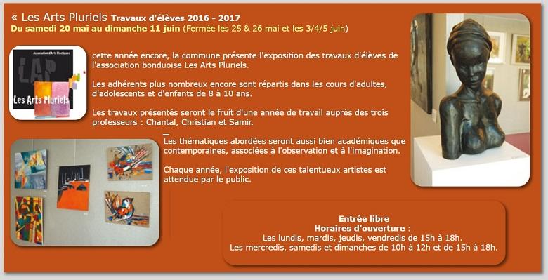 Exposition art-pluriels 2017