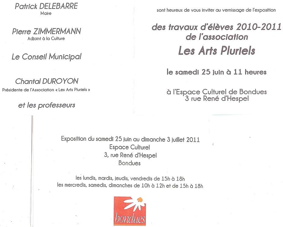 Exposition Arts Pluriels