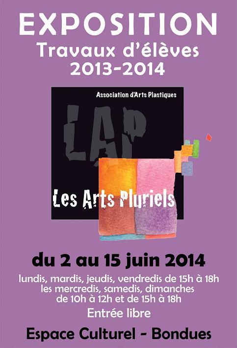Exposition arts pluriels juin 2014